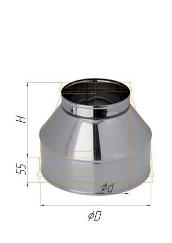 Конус ∅ 110х200 (430 / 0,5)
