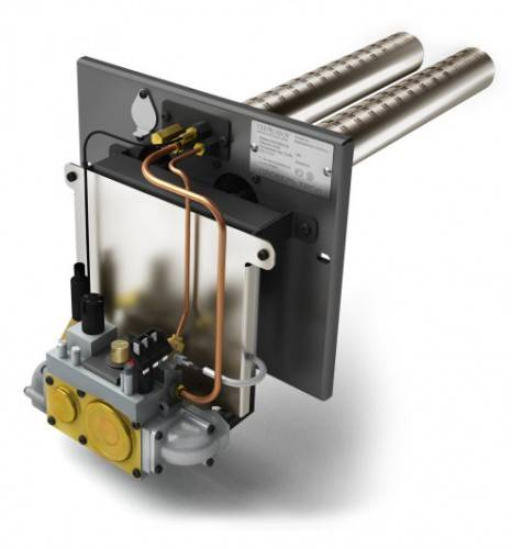 Газовая горелка «Сахалин-1», 32 кВт, (дополнение к банной печи)