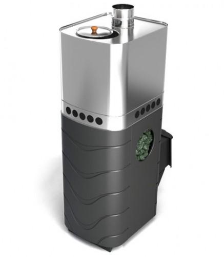 Банная печь Бирюса 2013 Carbon ДА ЗК антрацит (Термофор)