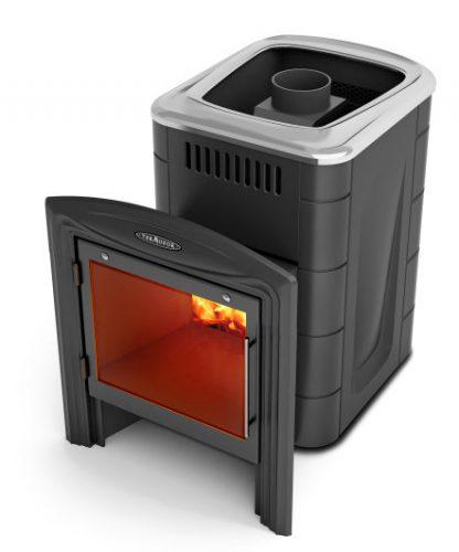 Банная печь Компакт 2013 Carbon Витра антрацит (Термофор)