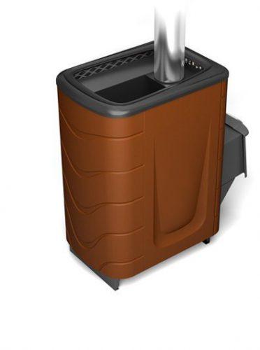 Банная печь Тунгуска 2011 Carbon ДА терракота (Термофор)