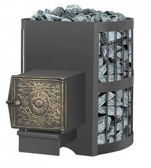 Печь банная Везувий Скиф 12 стандарт дверка ДТ — 3