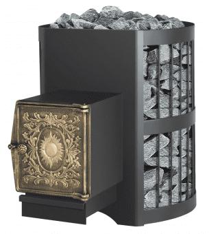 Печь банная Везувий Скиф 16 стандарт дверка ДТ — 4