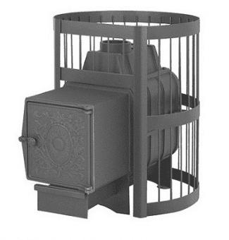 Печь банная Везувий Легенда 16 стандарт дверка ДТ — 4