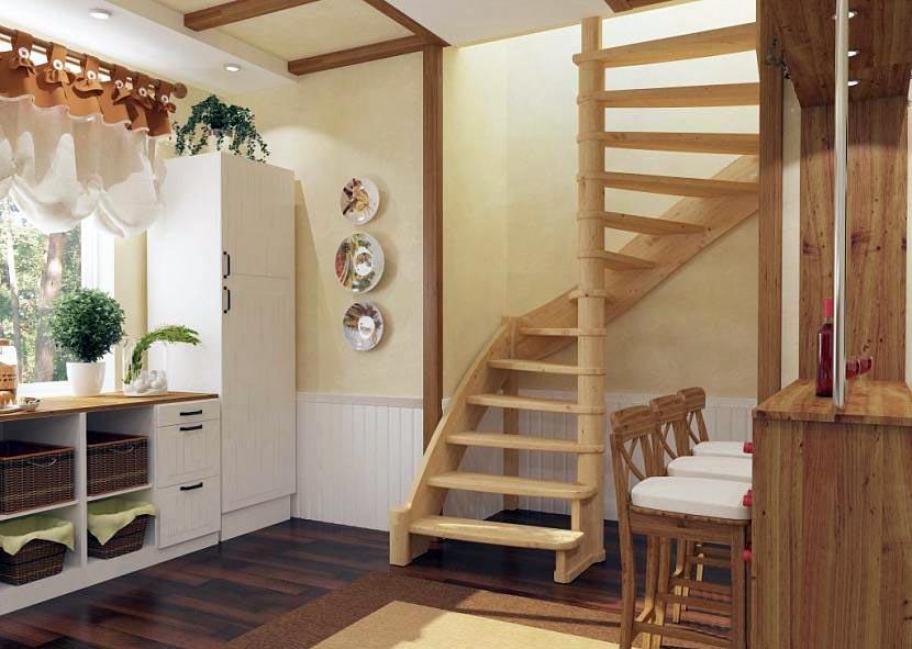 лестница на второй этаж своими руками фото